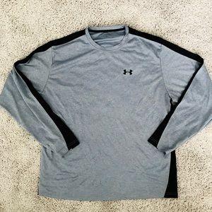 Long Sleeve Grey Under Armour Shirt